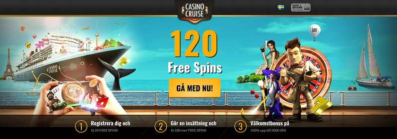 Casino Cruise Livecasino är bäst på spelmarknaden