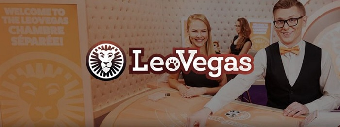 Få 5500 kr i LeoVegas livecasino bonus