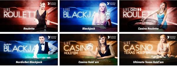Alla Live Casino